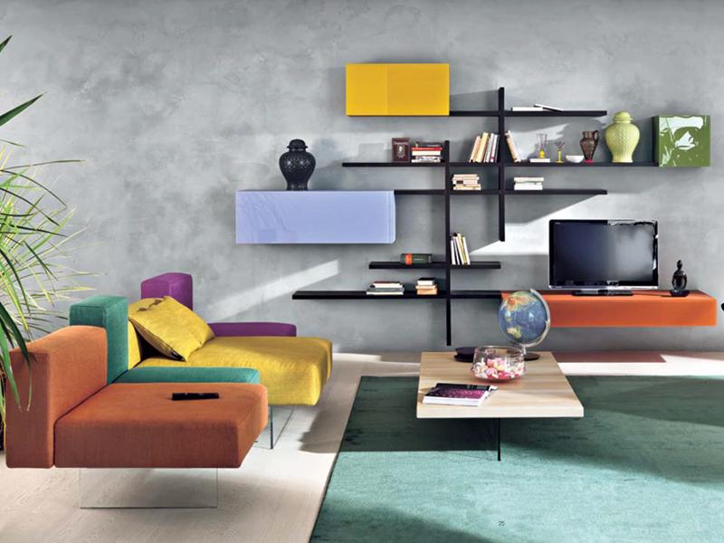 Programa 36e8 de lago mobiliario de dise o en for Mueble salon colgado