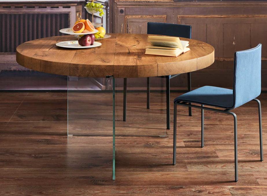 Mesa air redonda mobiliario de dise o en valladolid - Mesas redondas de diseno ...