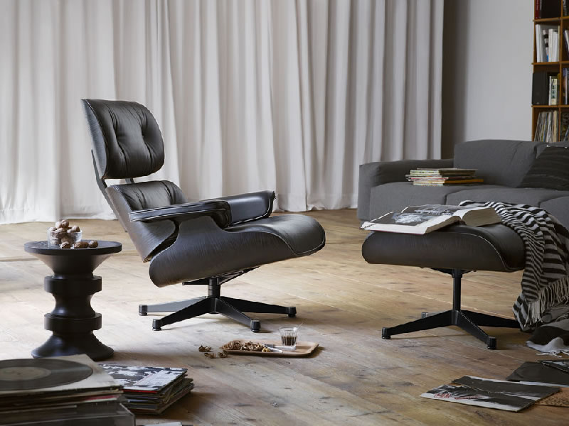 Lounge Chair de Charles y Ray Eames para Vitra