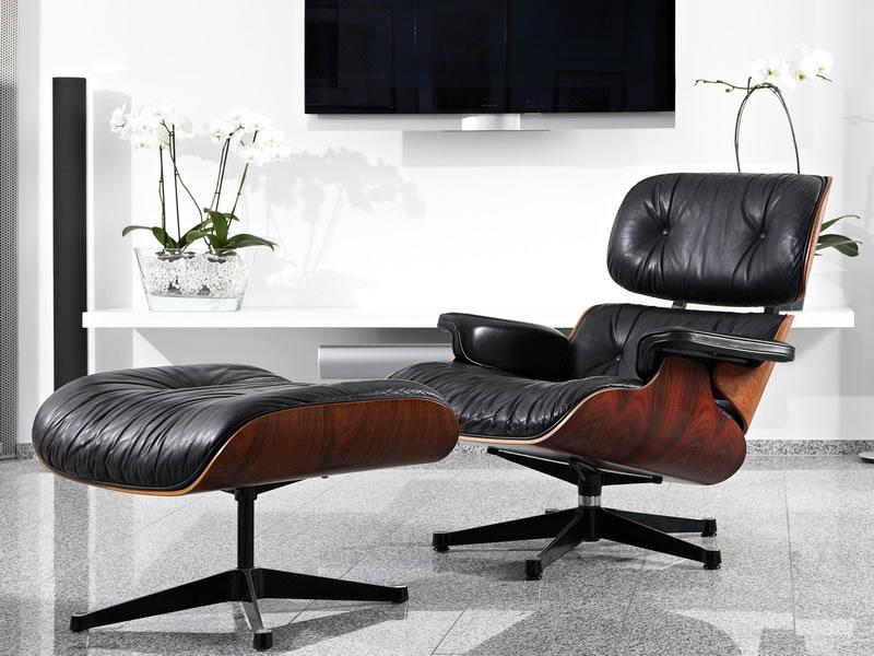 Lounge Chair de Charles y Ray Eames para Vitra