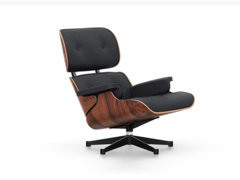 EAMES LOUNGE CHAIR & Ottoman -outlet-
