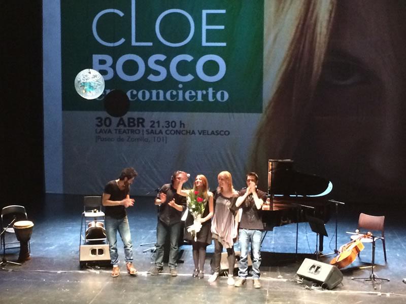 Cloe Bosco en concierto