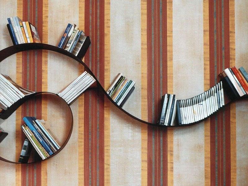 Estantería Bookworm de Ron Arad para Kartell