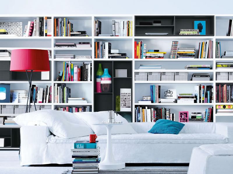 Wall system de poliform mobiliario de dise o en for Mobiliario de oficina definicion
