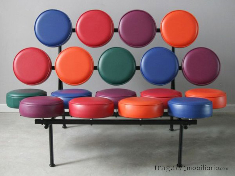 Marshmallow Sofa de George Nelson para Vitra