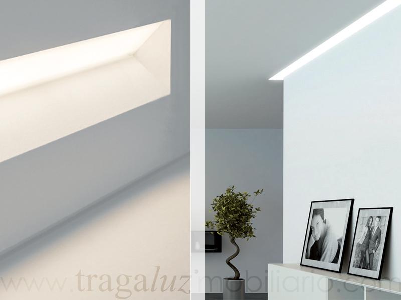 Sistemas lineales mobiliario de dise o en valladolid - Iluminacion de pared ...
