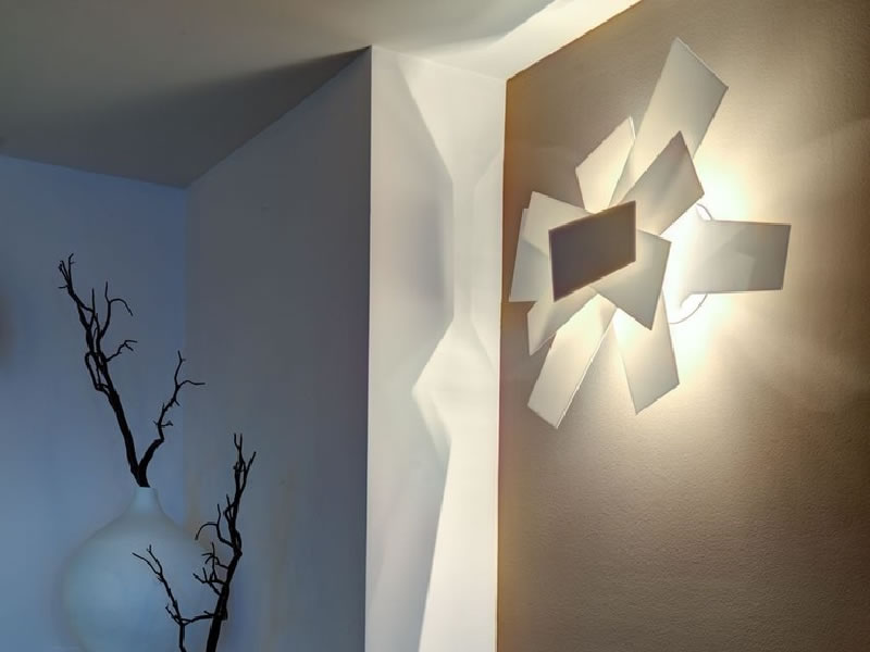 Lámpara de pared Big Bang de Foscarini