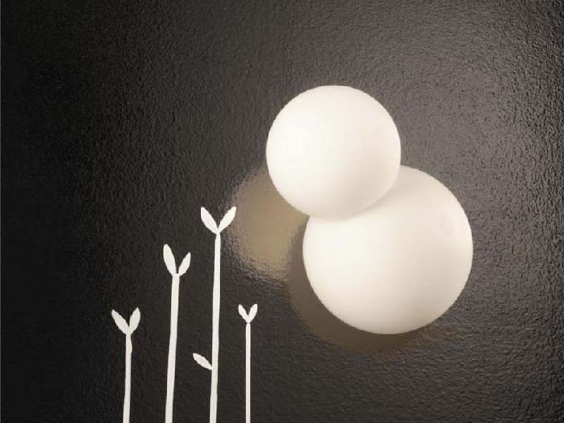 Lámpara de pared Bruco de Fontana Arte