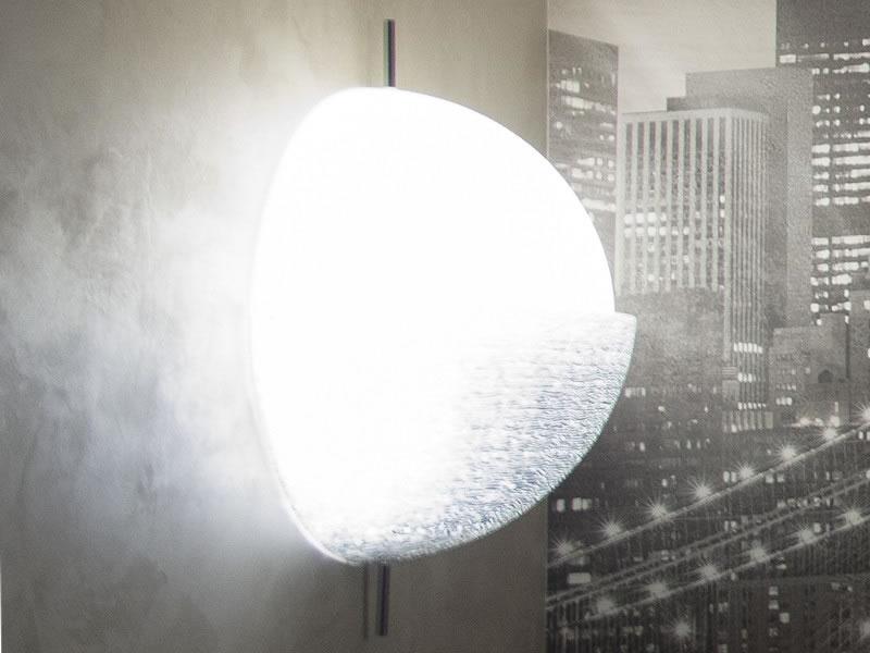 Lámpara/Aplique de pared Chignon de Piero Russi para Fontana Arte