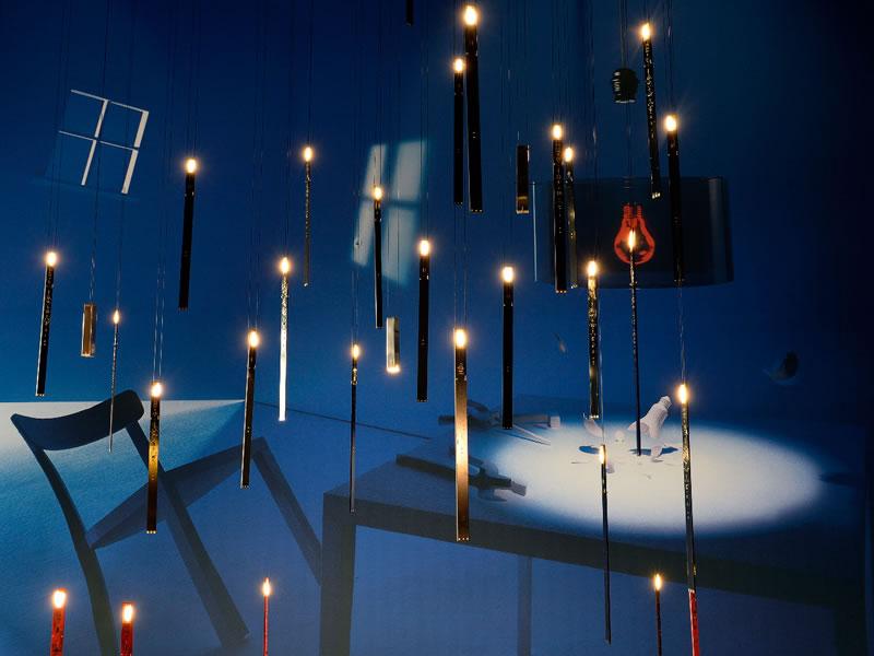 Lámpara de sobremesa My New Flame de Ingo Maurer