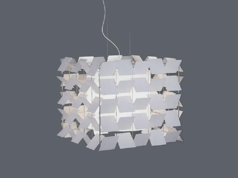 Lámpara de suspensión Cubrik de Santa & Cole