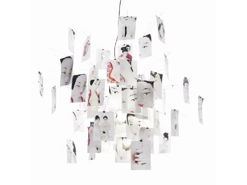 Lámpara de suspensión Zette´z de Ingo Maurer