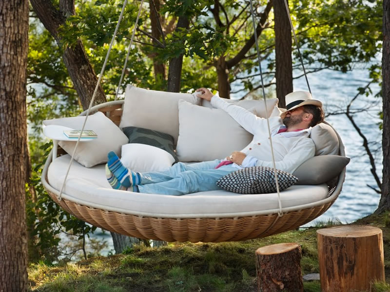 Lounger Swingrest de Daniel Pouzet para Dedon