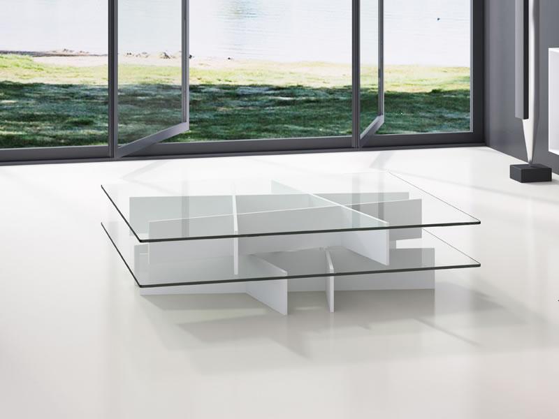 Mesa de centro moderna planar mobiliario de dise o en - Mesas de centro cuadradas modernas ...