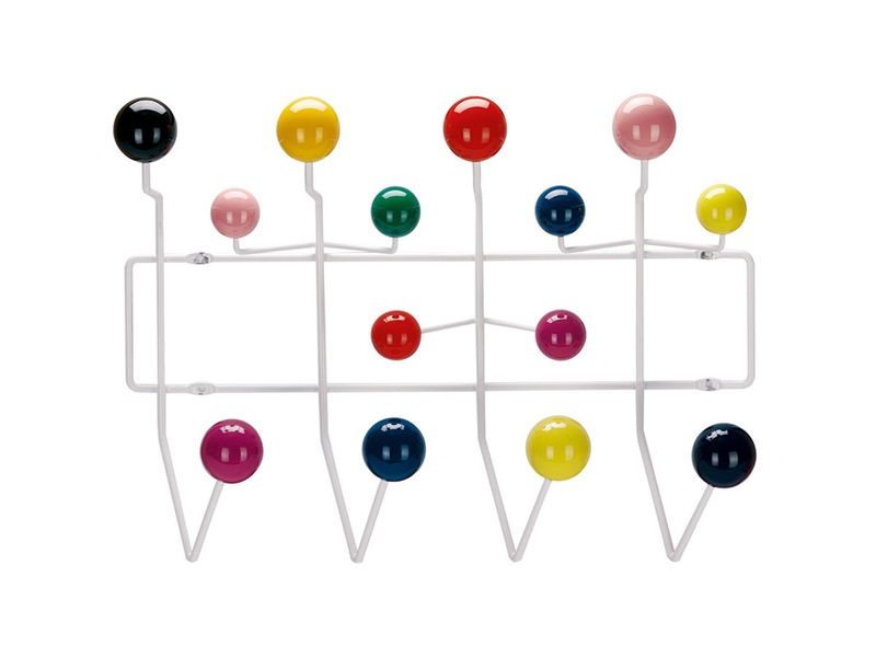 Hang It All de Charles & Ray Eames para Vitra