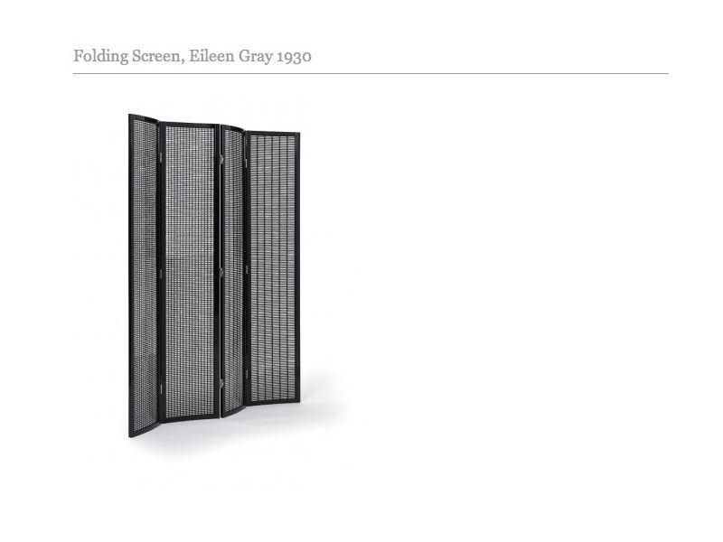 Folding Screen de Eileen Gray