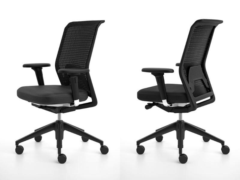 Id chair concept vitra mobiliario de dise o en for Sillas oficina valladolid