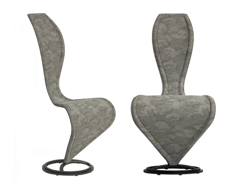 S-Chair by Tom Dixon para Cappellini