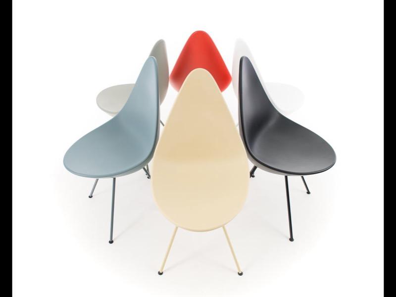 Silla Drop de Arne Jacobsen para Fritz Hansen