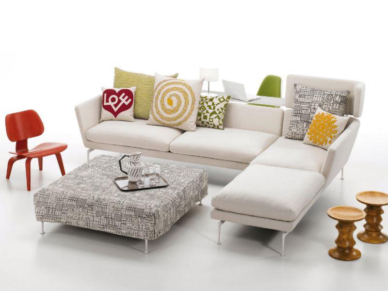 Sofa suita de antonio citterio para vitra