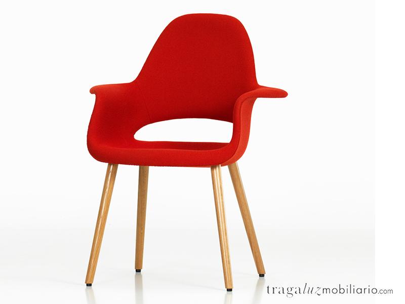 Organic chair de vitra mobiliario de dise o en for Mobiliario eames