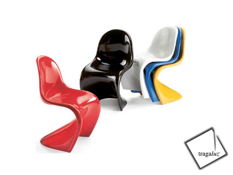 Juego de miniaturas sillas Panton de Vitra