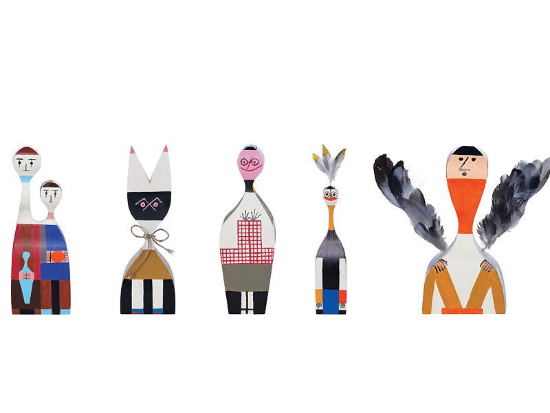 Muñecas decorativas Wooden Dolls